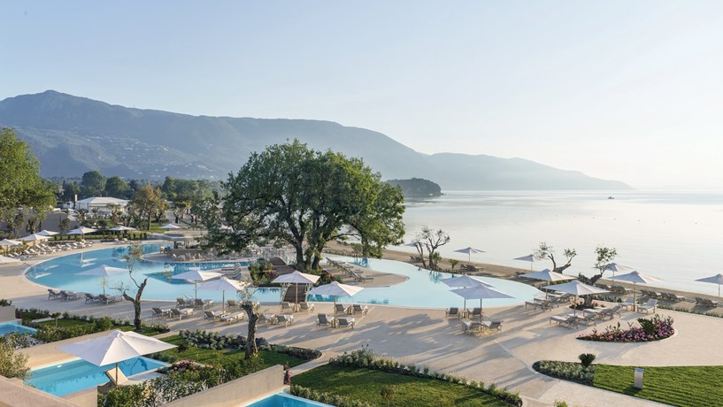 Ikos Hotel Group has four hotels in Greece, two of which are located in the Corfu Islands.