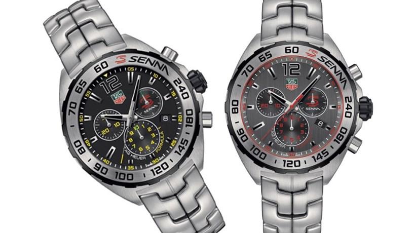 ea8dc28c1cf Relógios  homenagem a Ayrton Senna - Weekend - Jornal de Negócios