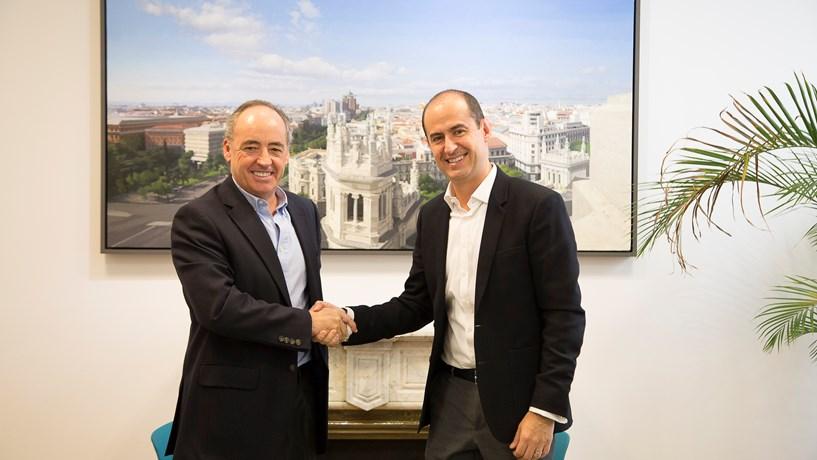 ec5d25454e43f Pablo Juantegui, presidente e CEO do Grupo Telepizza, e Enrique Ramírez,  Global Chief