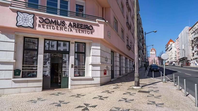 O Domus Areeiro tem capacidade para mais de 100 clientes seniores em Lisboa.